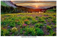 Gold King Basin Sunset