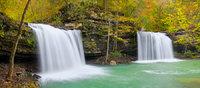 Twin Falls on Richland Creek II