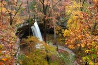 tea kettle falls, madison county, arkansas, kings river, waterfall