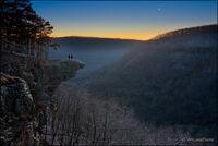 Hawksbill Crag, Venus, arkansas, upper buffalo wilderness, buffalo national river