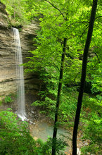 arkansas, ozark, waterfall