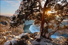 arkansas, buffalo river, , sunset