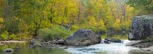 Richland Creek, Arkansas, fall, 2014