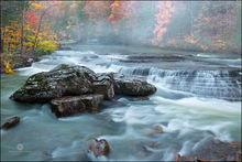 six finger falls, arkansas, falling water creek, ozarks