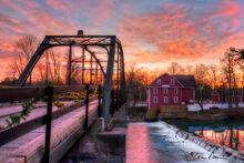 Sunrise at War Eagle Mill