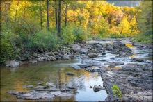 Richland creek wilderness area, arkansas, afternoon, fall