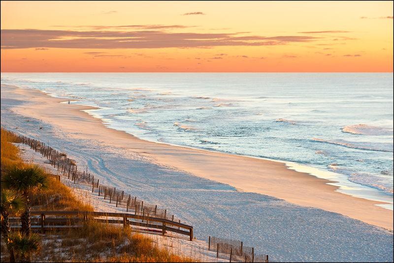 Beach, Orange Beach, Alabama, ocean, sunrise, sunset