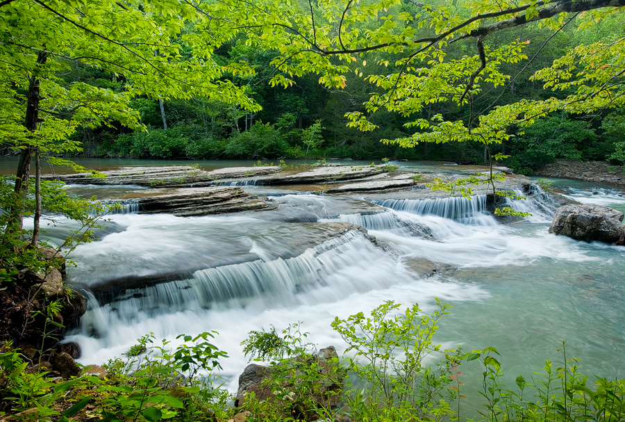 arkansas, wilderness, wilderness area, , waterfall, Richland Creek, photo