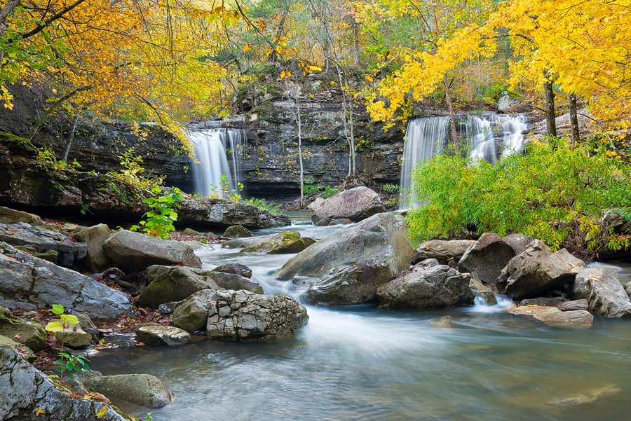 arkansas, wilderness, wilderness area, , waterfall, Richland Creek
