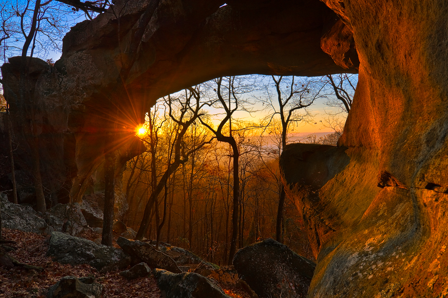 arkansas, ozark, sunrise,