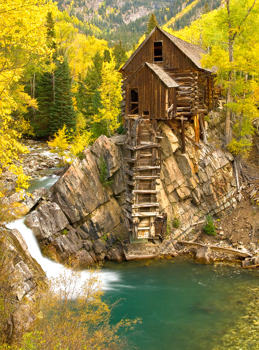colorado, marble, crystal mill, photo