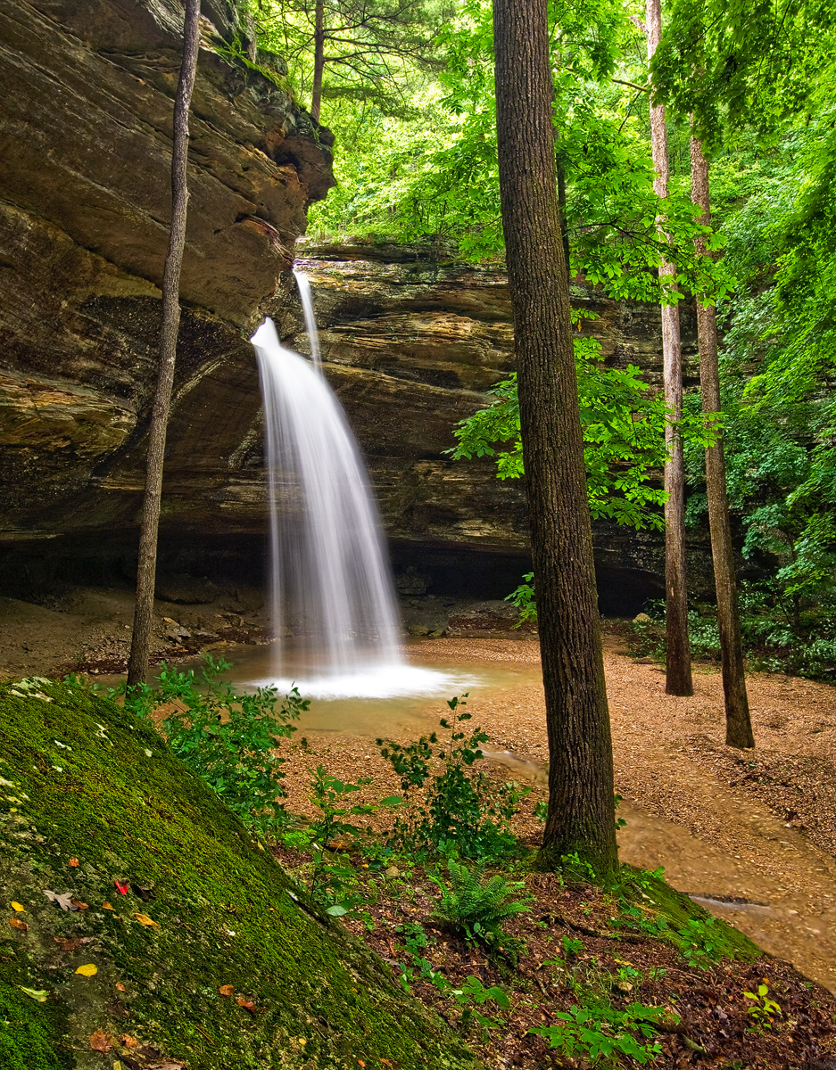arkansas, , waterfall, photo