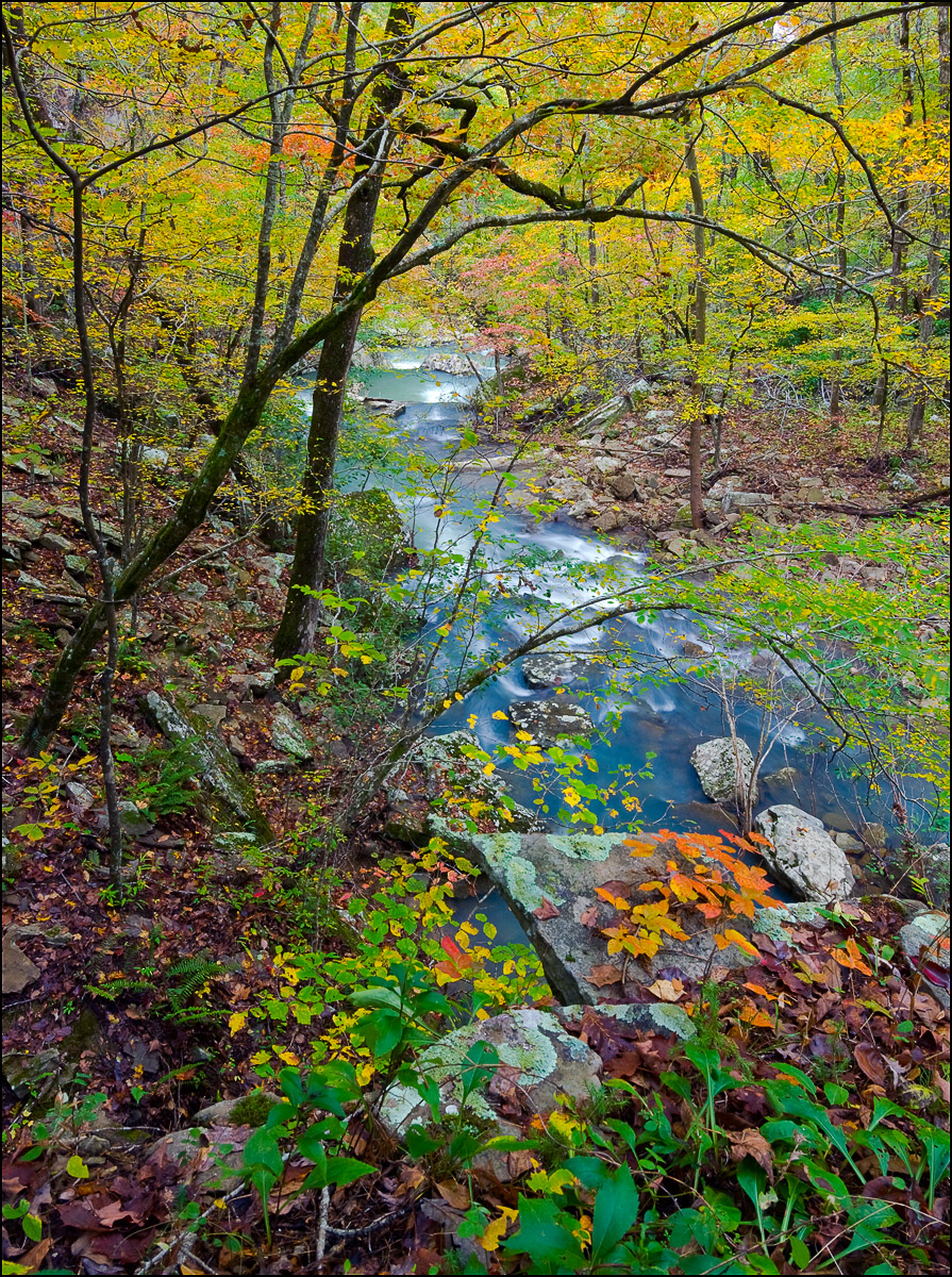 Richland Creek, wilderness area, Big Devil's Fork, Arkansas, fall, photo