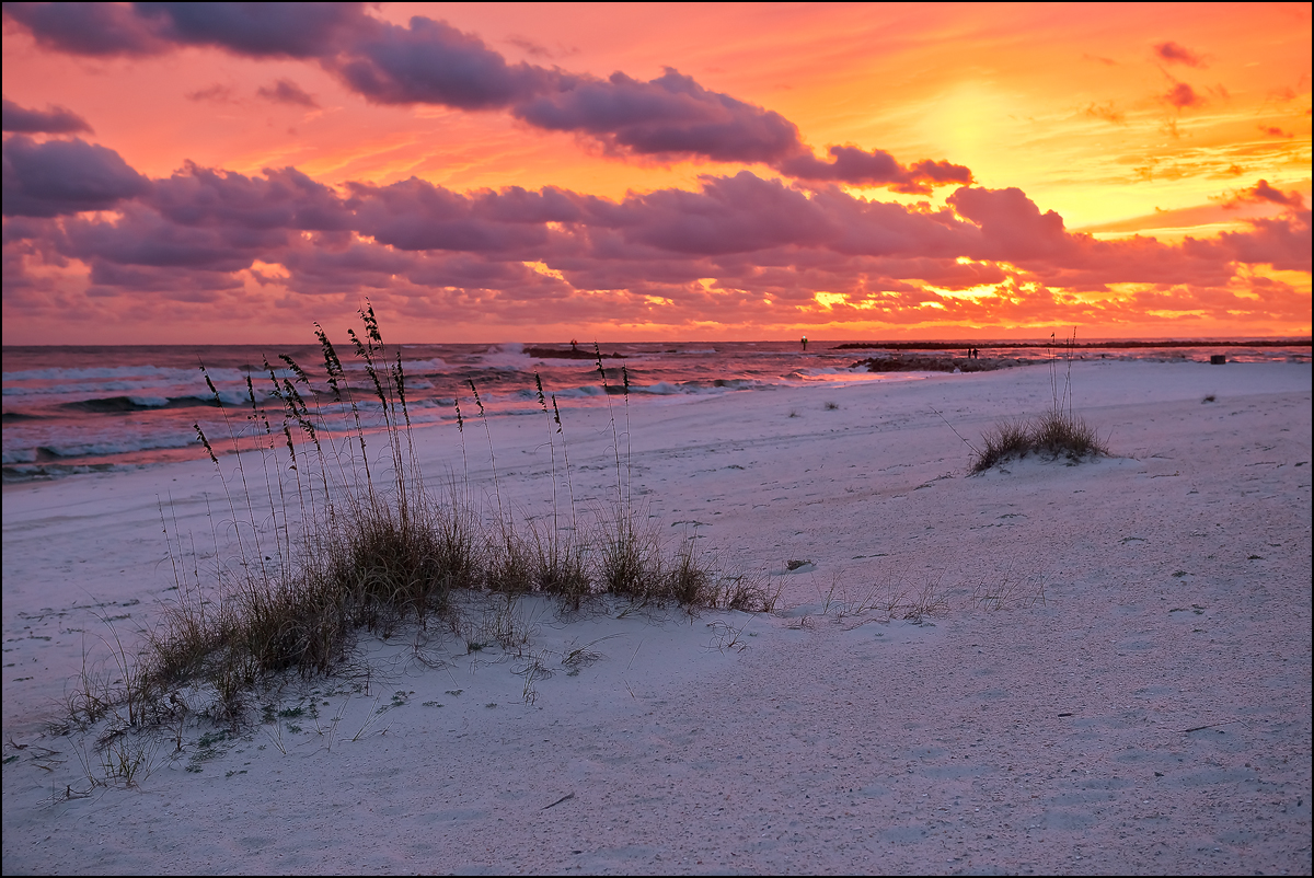 Orange Beach Alabama, sunset, photo