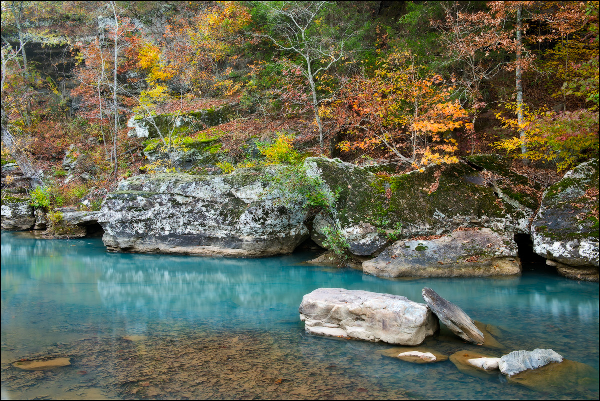 Falling Water Creek, arkansas, clear water, richland creek wilderness area