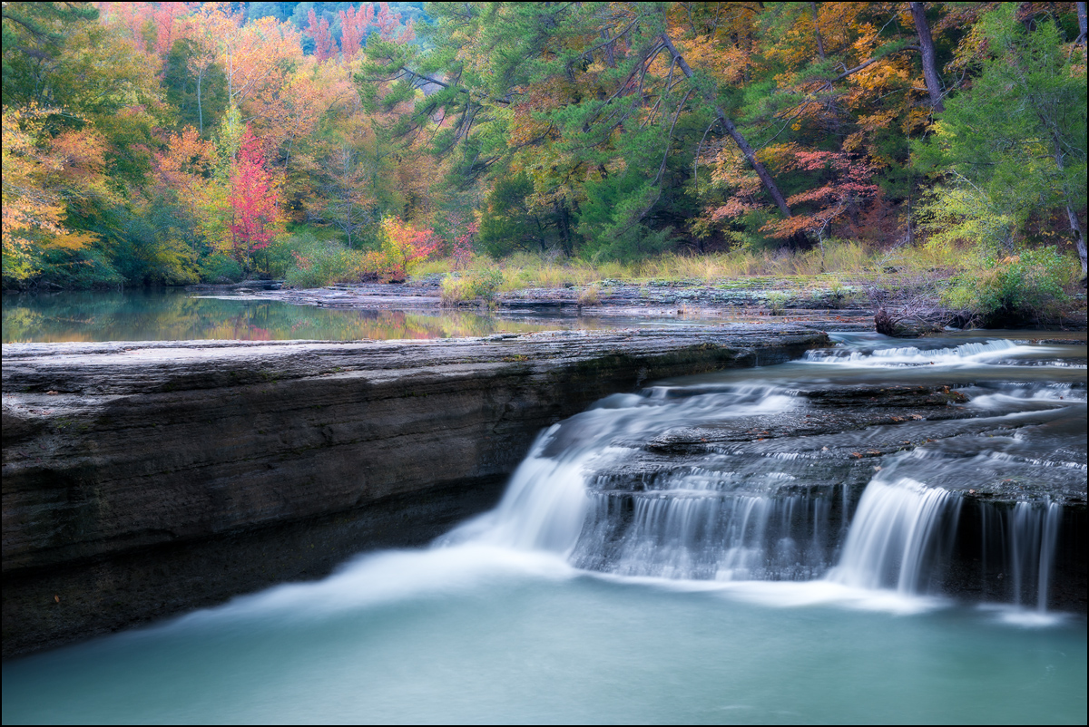 Haw Creek, arkansas, ozarks, national forest, fall, waterfall, photo