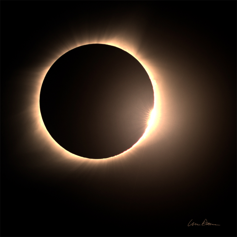 solar eclipse, 2017, missouri, manito lake, photo